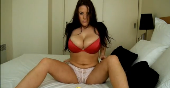 Angela White webcam