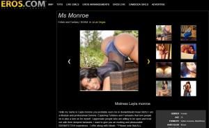 Layla Monroe Eros